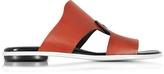 Proenza Schouler Sienna Leather Flat Slide