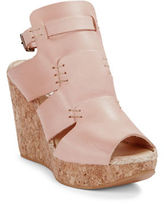 Free People Vachetta Platform Wedges