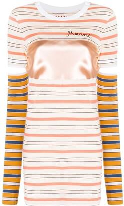 Marni striped short-sleeve T-shirt