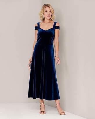 Marisota Julipa Velour Strappy Dress