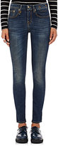 R 13 Women's Jenny Mid-Rise Jeans-NAVY