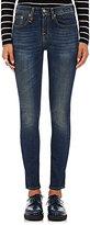 R 13 Women's Jenny Mid Rise Skinny Jeans