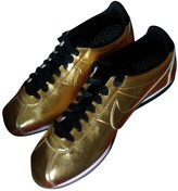 Nike Cortez Gold Leather Trainers