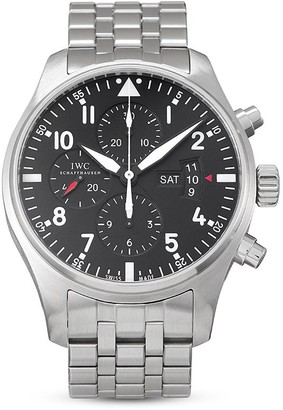 IWC SCHAFFHAUSEN pre-owned Pilot's Watch 43mm