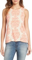 Lucky Brand Women's Woodblock Print Tank