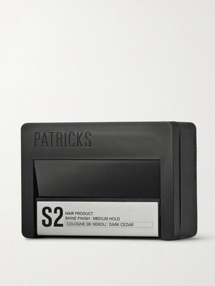 Patricks S2 Shine Finish Medium Hold Pomade, 75g