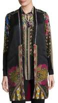 Etro Silk Floral Vest