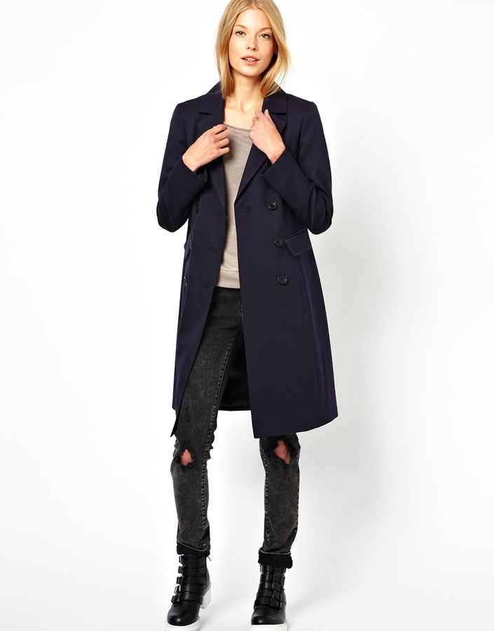 Cooper & Strollbrand Masculine Double Breasted Coat