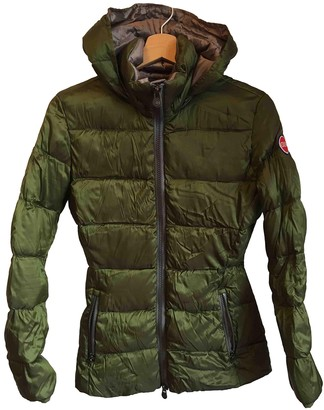 Colmar Green Coat for Women