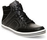 Steve Madden Ristt Leather Hi-Top Sneakers