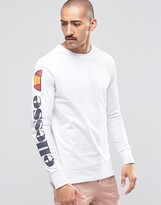 Ellesse Long Sleeve T-Shirt With Sleeve Logo
