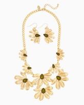 Charming charlie Romantic Garden Necklace Set