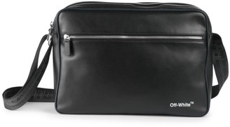 Off-White Off White Leather Messenger Bag