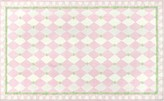 The Well Appointed House Harlequin Rug in Pink-Comes in Two Different Sizes