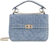 Valentino Garavani Valentino Rockstud Spike crossbody bag - women - Leather/Suede/metal - One Size