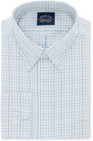 Eagle Men's Classic/Regular Big and Tall Fit Non-Iron Flex Collar Lagoon Check Dress Shirt