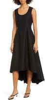 KHAITE Mali High/Low Sleeveless Cotton Dress