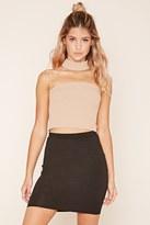 Forever 21 Stretch Knit Mini Skirt