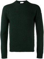 Moncler crew neck jumper - men - Virgin Wool - S