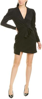Ronny Kobo Celani Faux Wrap Dress
