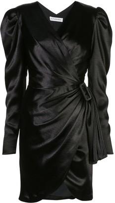 Altuzarra Annette asymmetric draped dress