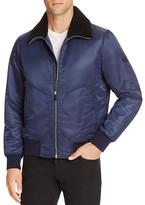 Rag & Bone Bayes Bomber Sheep Fur Jacket
