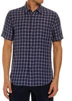 Sportscraft Short Sleeve Linen Check Shirt