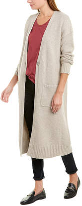 Theory Textured Wool-Blend Cardigan