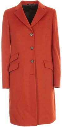 Paul Smith Single Breasted Coat W/3 Pockets