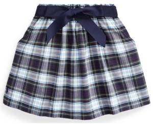 Polo Ralph Lauren Calvin Klein Toddler Girl Tartan Plaid Oxford Skirt