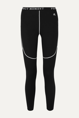 Perfect Moment Thermal Stretch Ski Pants - Black