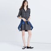 Madewell Daywalk Shirtdress in Hilldale Plaid