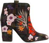 Laurence Dacade 'Pete' embroidered ankle boots