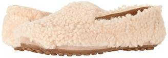 UGG Hailey Fluff Loafer (Natural) Women's Slip on Shoes