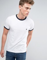 French Connection Contrast Edge T-Shirt