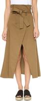Shakuhachi Joux Joux Trench Wrap Skirt