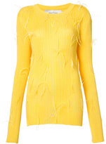 Marques Almeida Marques'almeida - ribbed sweater - women - Polyamide/Viscose - M