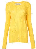 Marques Almeida Marques'almeida - ribbed sweater - women - Polyamide/Viscose - XS