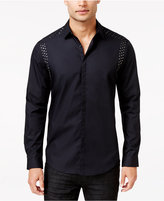 INC International Concepts Men's Ecstatic Studded Long-Sleeve Shirt, Only at Macy's