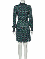 Thumbnail for your product : Anna Sui Printed Knee-Length Dress w/ Tags Black