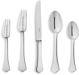 Ercuis Brantome Five-Piece Stainless Steel Flatware Set