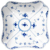 Royal Copenhagen Fluted Half Lace Square Porcelain Bowl