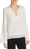 Parker Emiliana Embroidered Top