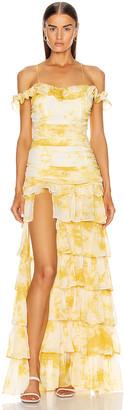 Atoir Back To Love Dress in Gold Amber | FWRD