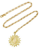 Orit Elhanati Sun 18K Gold Diamond Necklace