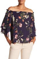 Parker Floral Off the Shoulder Blouse