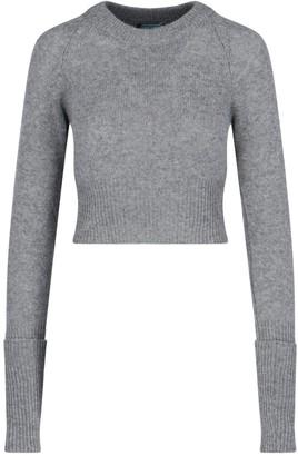 Prada Crew Neck Long Sleeve Sweater