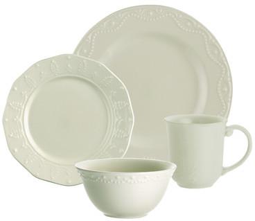 Paula Deen Whitaker 16 Piece Dinnerware Set