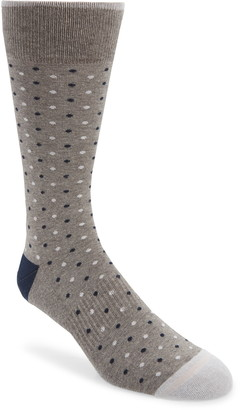 Nordstrom Mini Dot Cushion Socks
