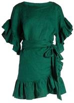 Etoile Isabel Marant Delicia ruffled linen mini dress